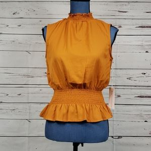 NWT Tangerine Dressy Tank Top by THEORY